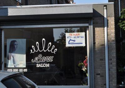 Salon etalage Frans Halsstraat 20